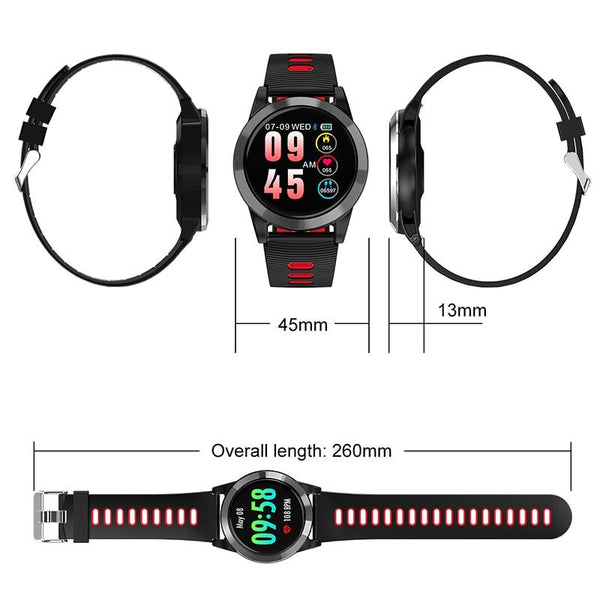 New Smart Watch Blood Pressure Fitness Tracker Heart Rate Monitor Waterproof Digital Pedometer Bracelet For IOS Android