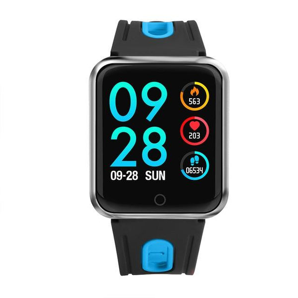 New IP68 Waterproof Smart Watch Fitness Bracelet Activity Tracker Heart Rate Monitor Blood PressureFor iOS Android