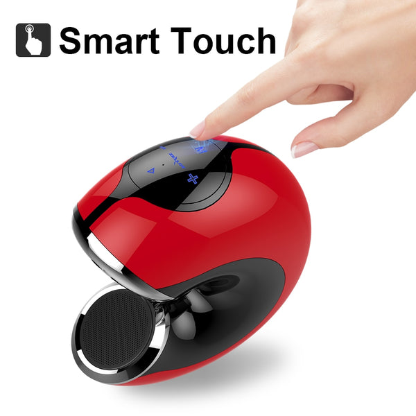 New Portable Touch Wireless Bluetooth Speaker Mini 3D Stereo Handsfree Speaker With Microphone