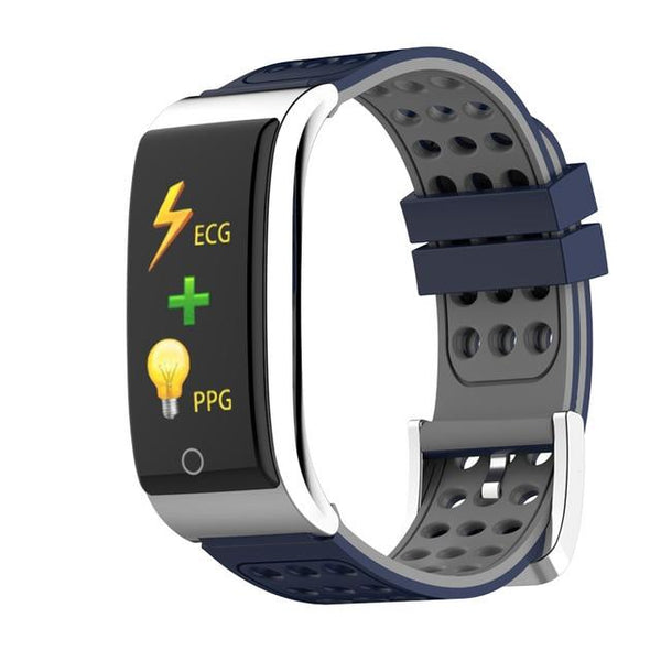 New IP67 Waterproof Smart Bracelet ECG PPG Blood Pressure Measurement Fitness Tracker Watch Bracelet For iPhone Android