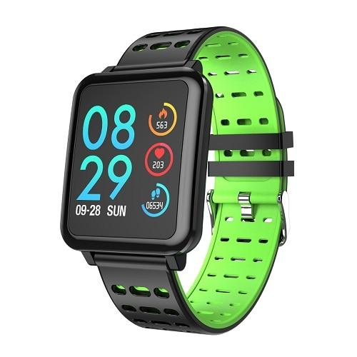 New Smart Watch Heart Rate Monitor Blood Pressure Activity Tracker Bracelet Water-Resistant Sport Band