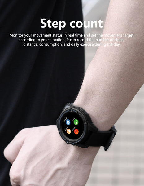 New Smart Sport Watch Fitness Tracker Camera Music Bluetooth Steps Calorie Distance Activity Tracker