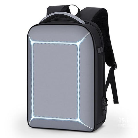 New TSA Lock Anti-Theft Men 15.6 Inch Laptop Backpack USB Charging Business Water-Repellent Casual Travel Backpack