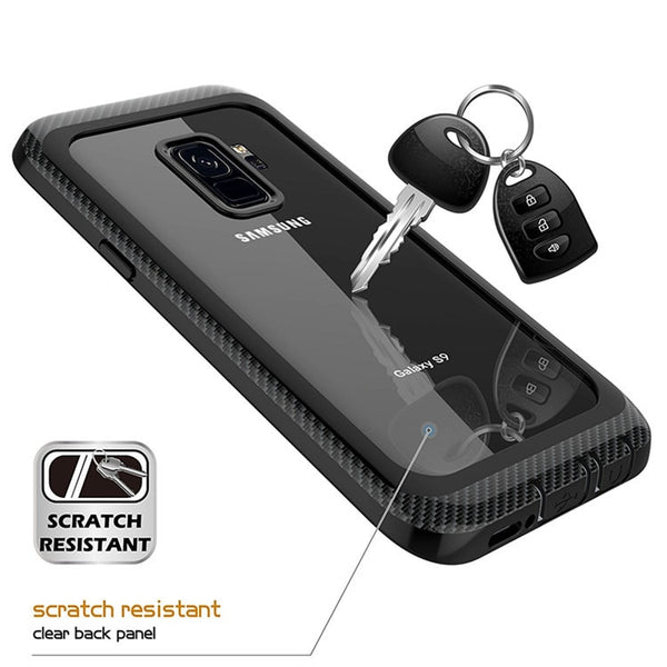 New Shockproof Full-Body Rugged Case Cover With Built-in Screen Protector For Samsung Galaxy S9 Note 9 Series