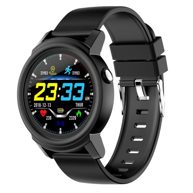 New 1.3' Full HD IPS Circular Screen Band Heart Rate Monitor Sport Mode Fitness Tracker Smart Watch