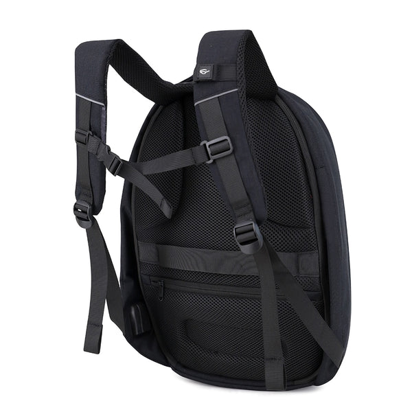 New 28L Shell Mochila School Business 15.6 inch Laptop USB Charging Port Backpack Bag Day Pack