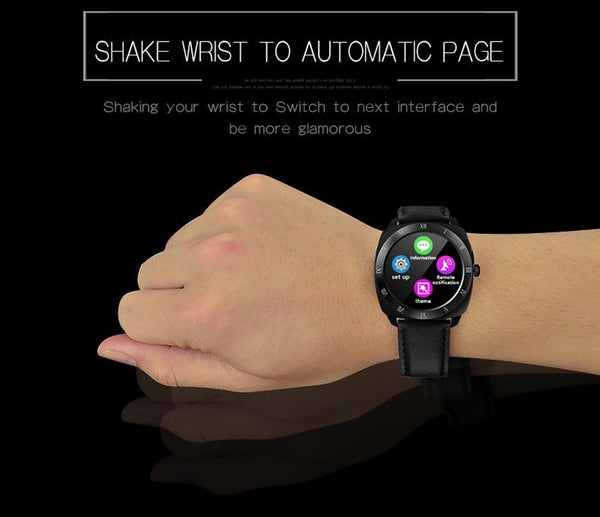 New Smart Watch Heart Rate Monitor Remote Camera Music Wristwatch Pedometer Smartwatch For Android iPhones