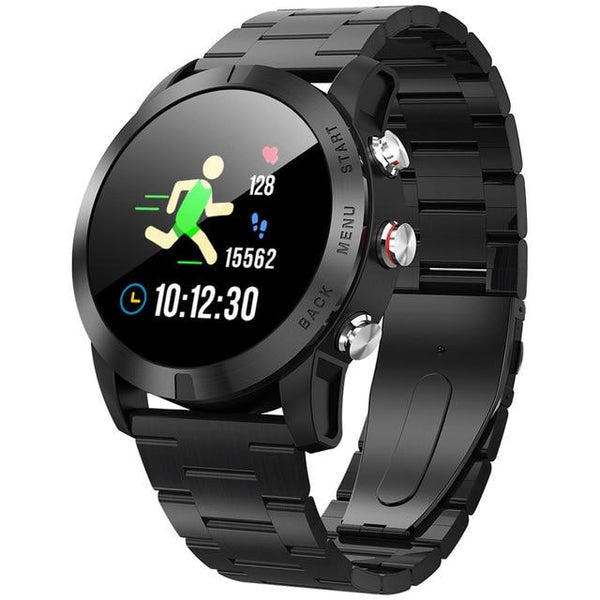 New Smart Watch 1.3'' IP68 Waterproof Bluetooth 4.2 Smartwatch Heart Rate Monitoring Compass Sport Watch For Android iOS