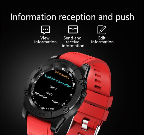New Sport Smart Watch With Remote Camera Wristwatch Bluetooth For Android iPhone