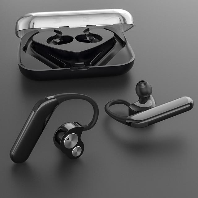 New TWS Wireless Earbuds V5.0 Bluetooth Earphone IPX7 Waterproof Headset Deep Bass Stereo Sound Sport Headphones