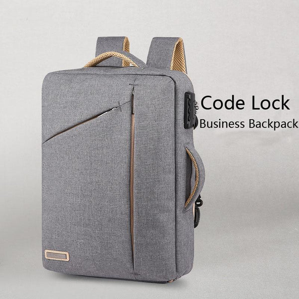 New Anti-Theft Business School Laptop Computer Water-Repellent Travel Daytime Backpack