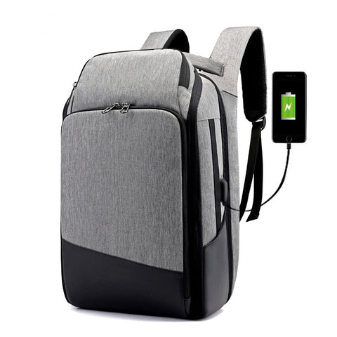New High Capacity 17 Inch Laptop Business Multifunctional USB Charging Travel Bag School Backpack