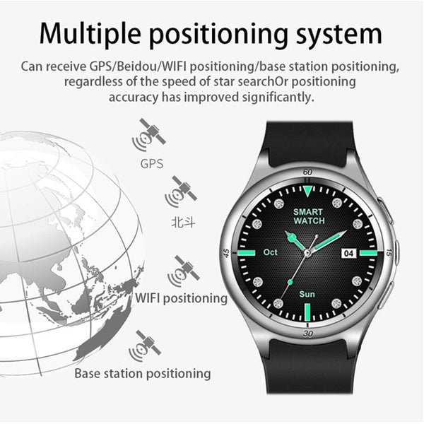 New 3G WIFI GPS IP67 Waterproof Smart Watch Fitness Tracker Sport Android 5.1 Smartwatch For iPhone Android
