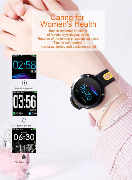 New Smart Watch 50 Meters Waterproof Heart Rate Monitor Fitness Tracker Heart Rate Monitor For iOS Android