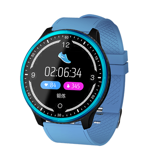 New Smart Bracelet IP68 Waterproof  Blood Pressure Blood Oxygen Monitor Fitness Smartwatch For iPhones Android