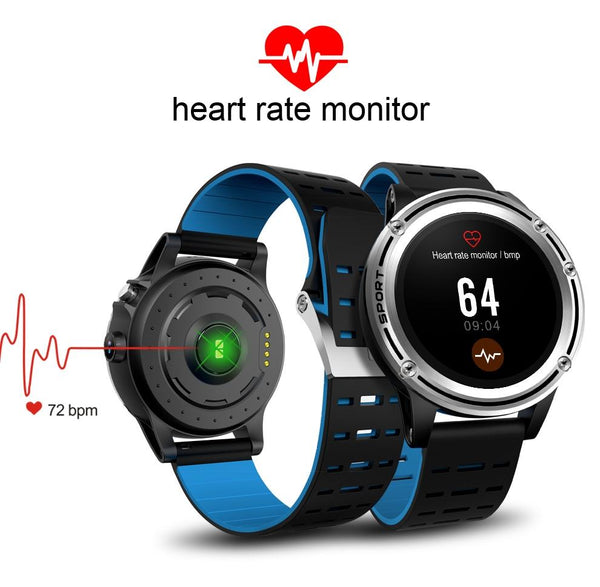 New Sport Smart Watch Men Pedometer Heart Rate Detection Smartwatch Wearable Device for iPhones Androids