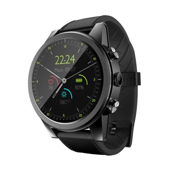 New Android 7.1  IP67 Waterproof GPS 2MP Camera 1.6 Inch AMOLED Screen 4G Smartwatch For iPhone Android