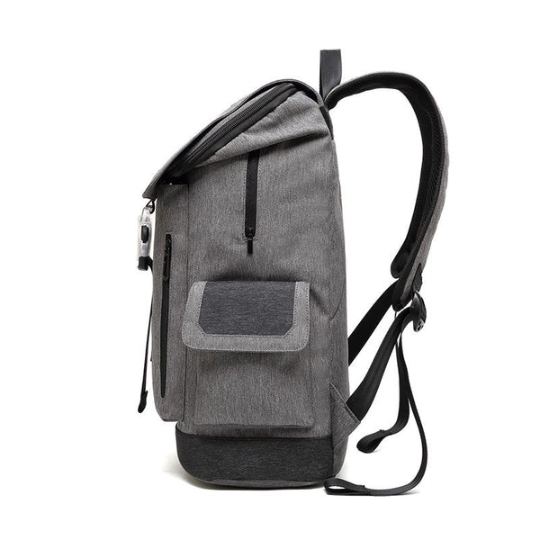 New Multifunction Smart USB Port Charging Backpack Large Capacity Waterproof Laptop Outdoor Rugged School Bag