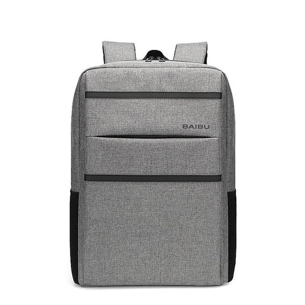 New Outdoor Anti-Thief school Backpack Multifunctional Waterproof 15.6 inch Laptop USB Charging Travel Bag