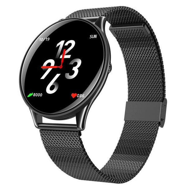 New Waterproof Bluetooth Smart Watch Heart Rate Blood Pressure Touch Screen Smartwatch For Android IOS