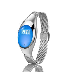 New Ladies Heart Rate Monitor Pedometer Fitness Tracker Smart Watch For Android IOS