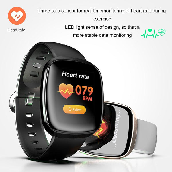 New Bluetooth Sport Smart Watch Men IP67 Waterproof Pedometer Heart Rate Monitor Call Reminder Smartwatch For ios Android