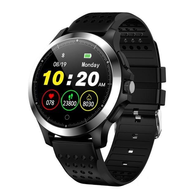 New Waterproof ECG PPG Fitness Bracelet Smartwatch Blood Pressure Heart Rate Monitor Pedometer For iPhone Android