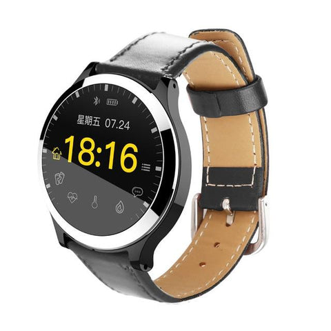 New Smart Watch Waterproof ECG & PPG Blood Pressure Heart Rate Monitor Multi-Sport Mode Fitness Smartwatch