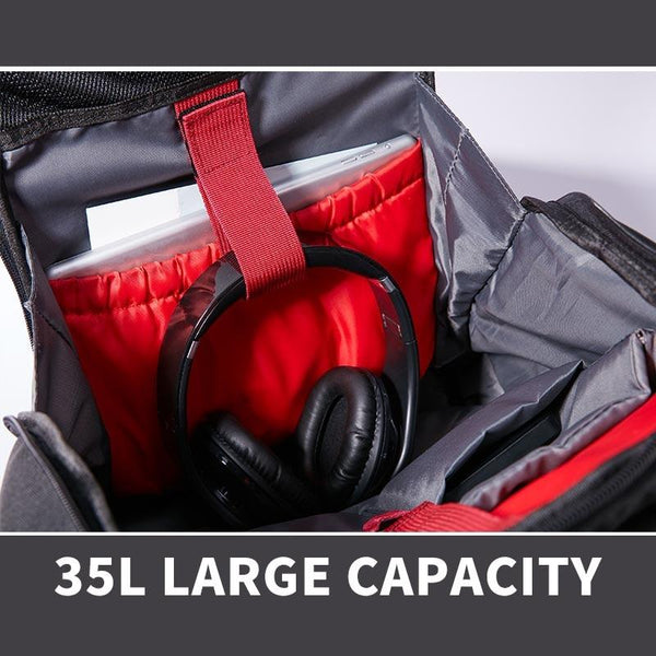 New Large Capacity Water-Repellent Multifunctional Travel Mochila 15.6 Inch Laptop Bag Outdoor Sport Backpack