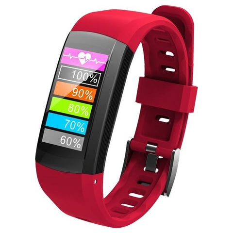 New Smart Wristband Watch IP68 Waterproof Pedometer Sport Bracelet GPS Heart Rate Activity Fitness Tracker For iOS Android