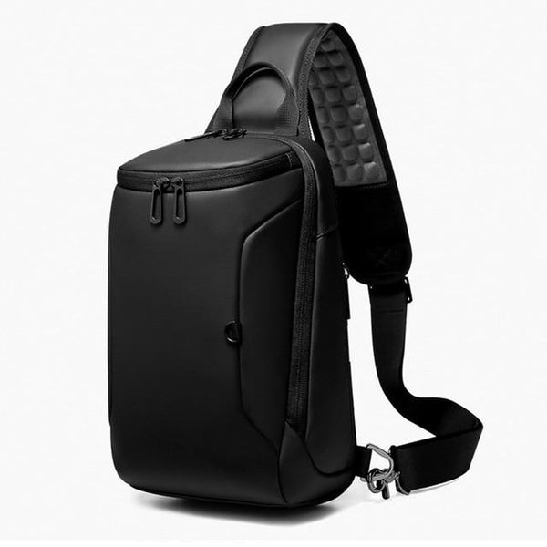 "New 9.7"" Capacity Cross-Body Chest USB Charging Water Repellent Shoulder Messenger Bag For Tablets iPad"