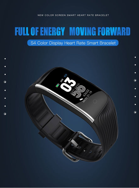 New Fitness Bracelet Sport Smart Band IP68 Waterproof Heart Rate Monitor GPS Smartwatch For Android IOS