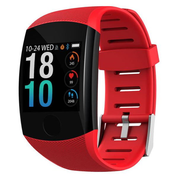 New 1.3'' Touchscreen Smart Wristband Heart Rate Blood Pressure Pedometer Waterproof Fitness Tracker For Android iPhone
