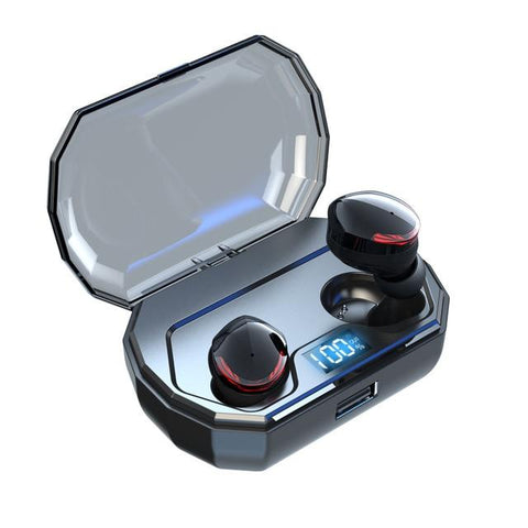 New Wireless Stereo Bluetooth 5.0 In-Ear Earbuds HIFI Sound With 2000mAh Charging Box For IOS Android