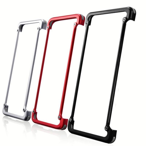 New Aluminum Metallic Protective Frame Compact Slim Bumper Case For Samsung Galaxy iPhone 11 Pro Max Series
