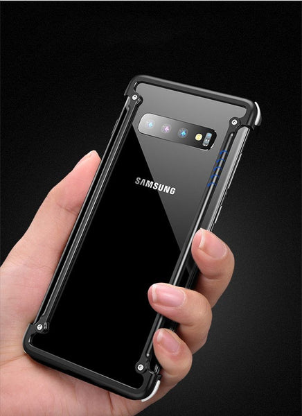 New Aluminum Metallic Protective Frame Compact Slim Bumper Case For Samsung Galaxy Series
