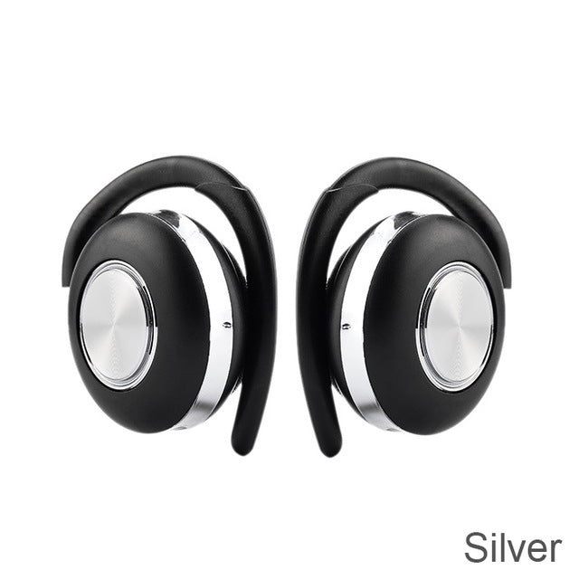 New TWS Wireless Headphones Stereo Bluetooth 5.0 Earphone Ear Hook Noise Cancelling Headset With Microphone