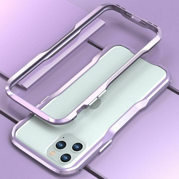 New Metal Shock Resistant Premium Frame Case w/ Sound Chamber - Aluminum Frame for iPhone 7 8 X XS XR 11 Pro Max Series