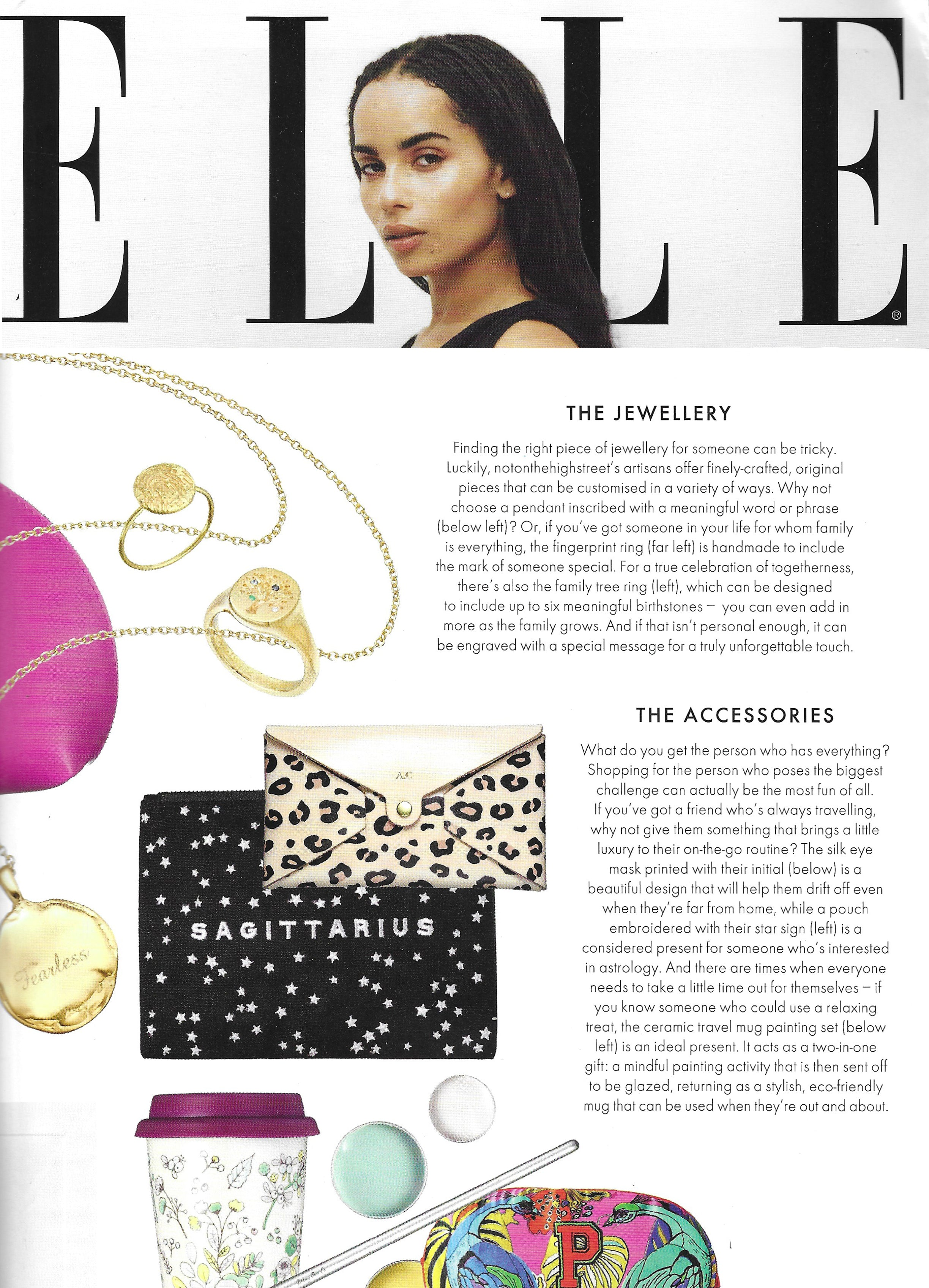 Elle press coverage