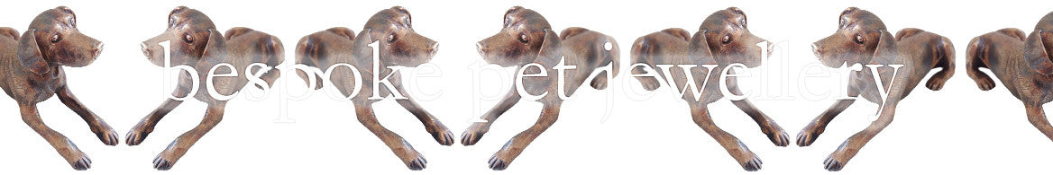 Bespoke Pet Jewellery collection banner