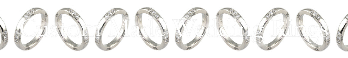 Custom made wedding rings banner image
