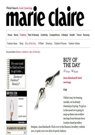 marie claire coverage