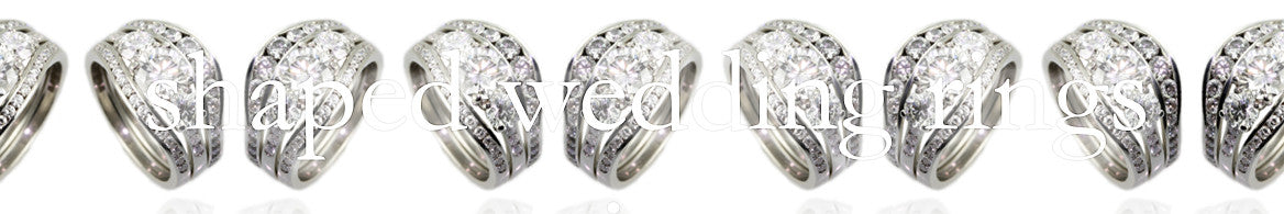 Shaped Wedding Rings Collection Banner