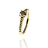 Yellow Gold & Yellow Diamonds Ring