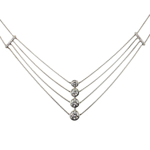 Platinum & Diamonds Necklace