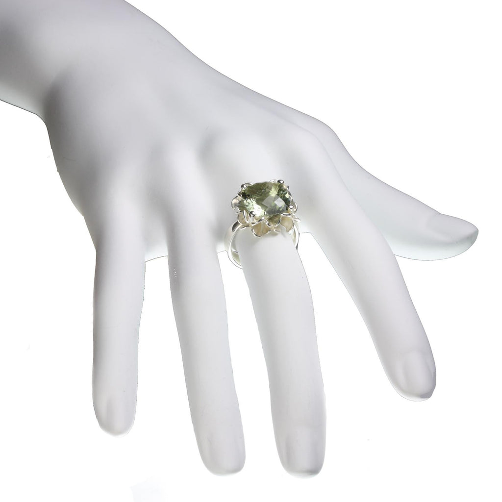 Big Rock Flower Ring - Jana Reinhardt Ltd - 2