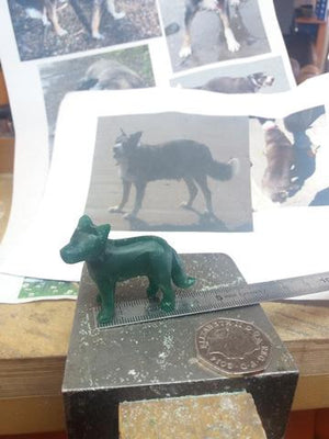 Bespoke Border Collie Pendant