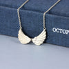 Tiny Double Wing Necklace - Jana Reinhardt Ltd - 5