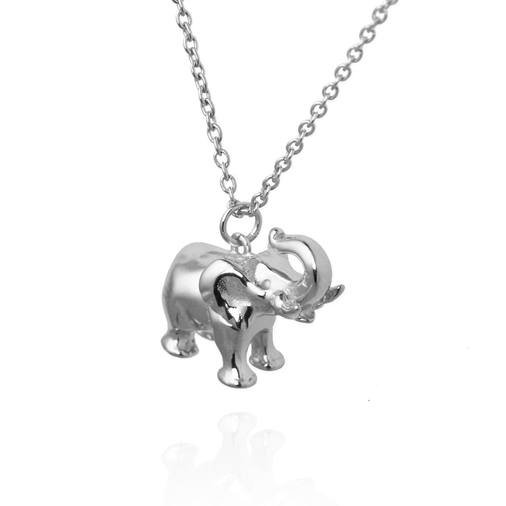 jules smith polyvore fashion pendant pin elephant necklace