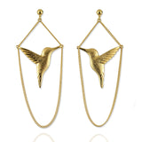 Hummingbird Earrings - Jana Reinhardt Ltd - 2